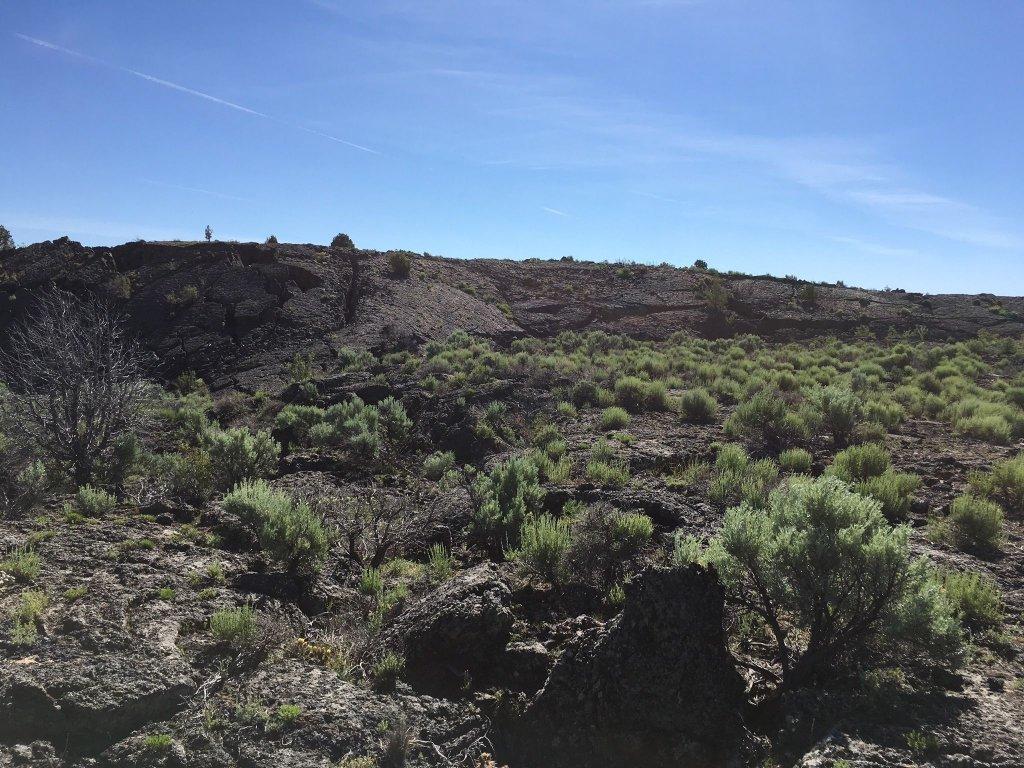 Hiking Twentymile Lava Trail