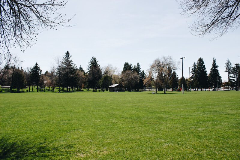 Smith Park in Rexburg