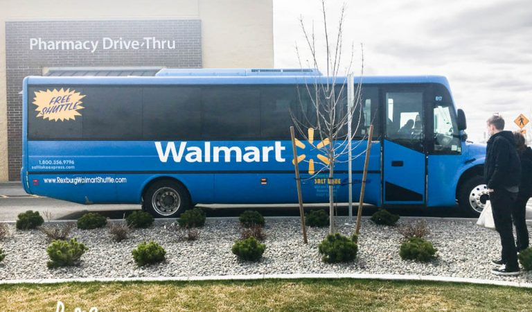 A Trip on the Rexburg Walmart Shuttle