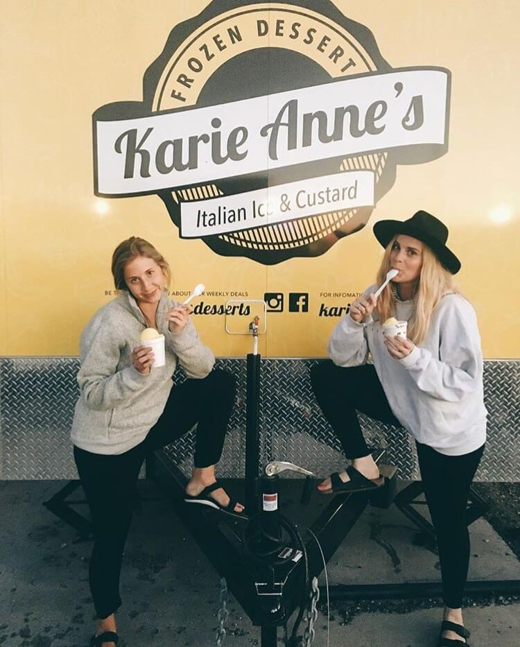 Go to Karie Anne's in Rexburg during the spring