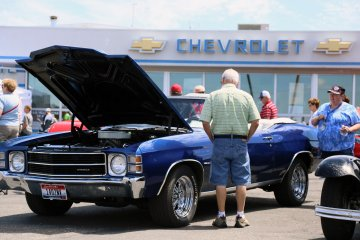 Photo from the 2015 Taylor Chevrolet Car Show