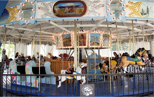 Kick off the summer with free carousel rides