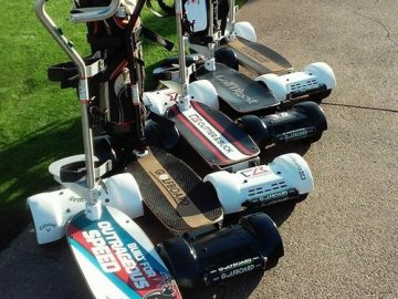 Golfboard is now available at Teton Lakes in Rexburg.