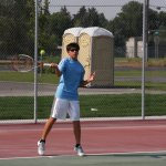 Duque Tennis Program teaches groups and individuals.