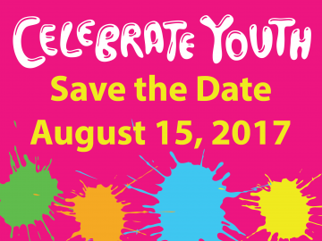 Celebrate Youth will be on August 15, 2017