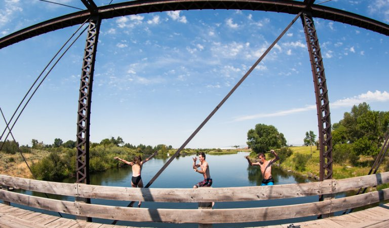 Best bridge jumping spots in the Rexburg area