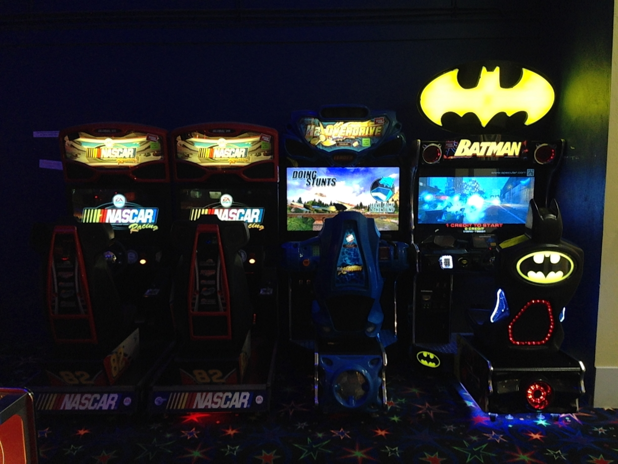 The Craze has an awesome arcade.