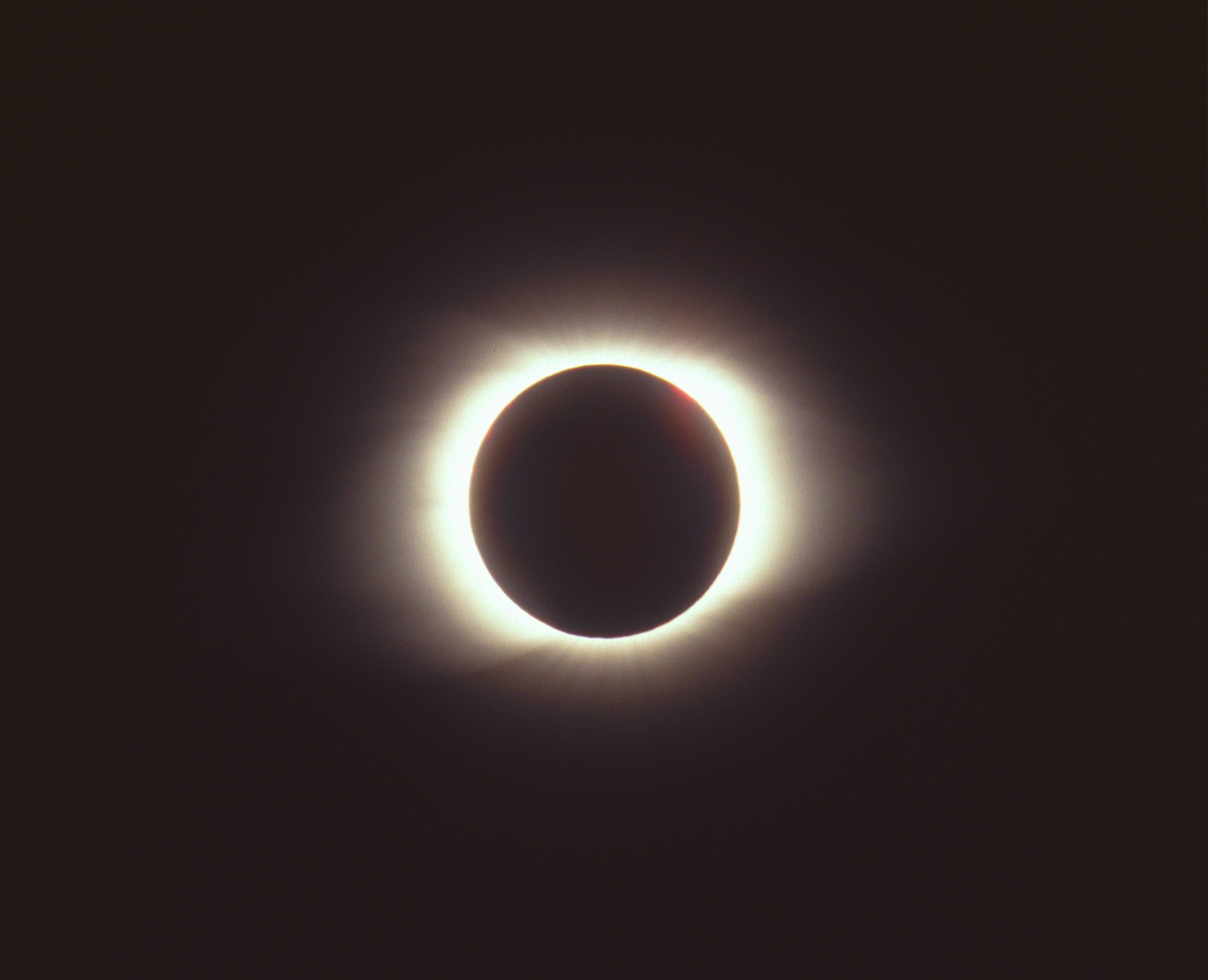 Events during the eclipse
