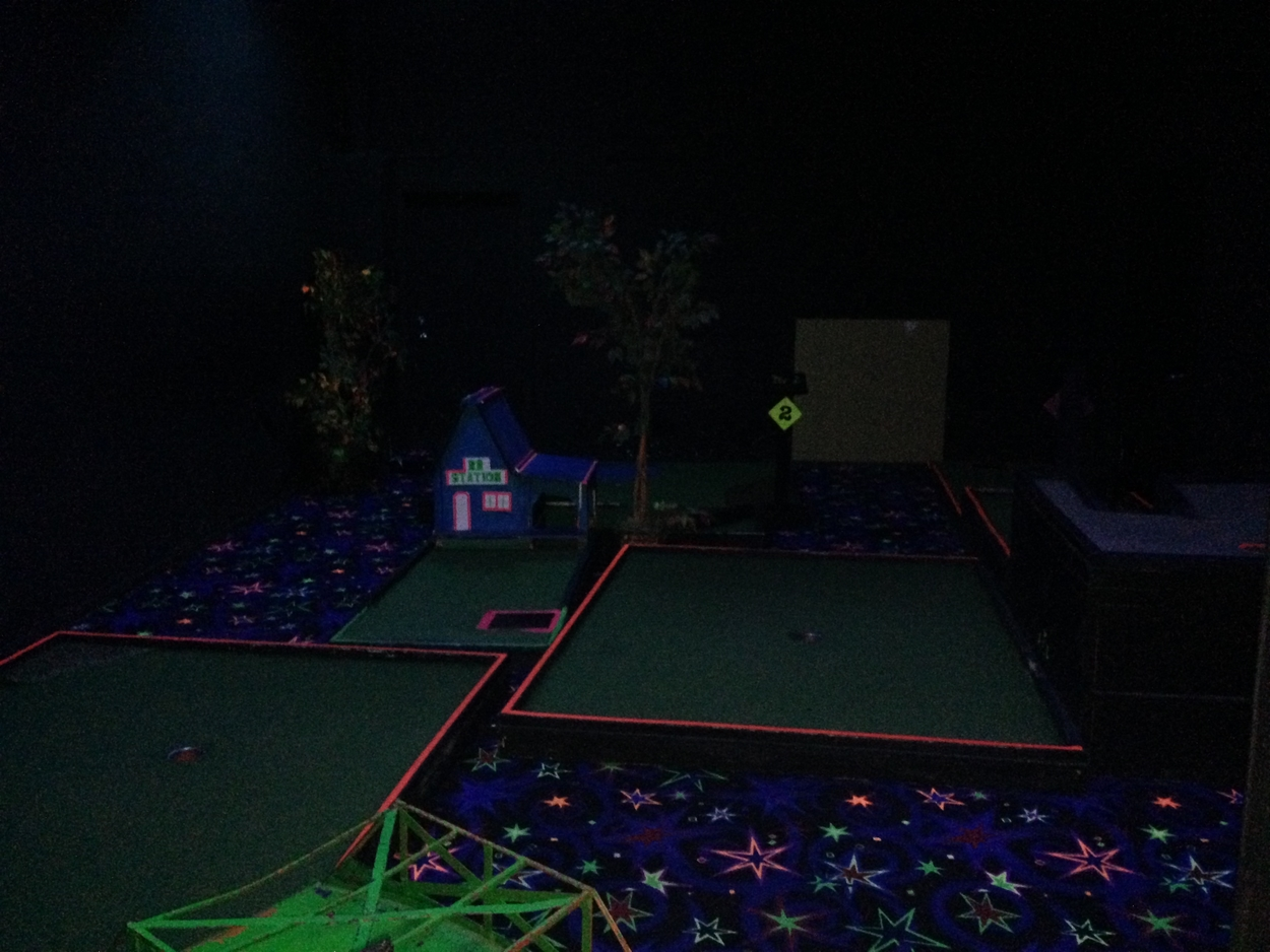 The Craze also offers mini golf.