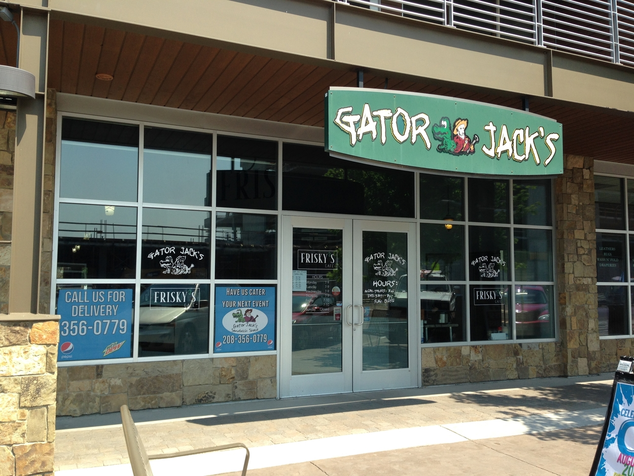 Even Gator Jack's offers breakfast in Rexburg.