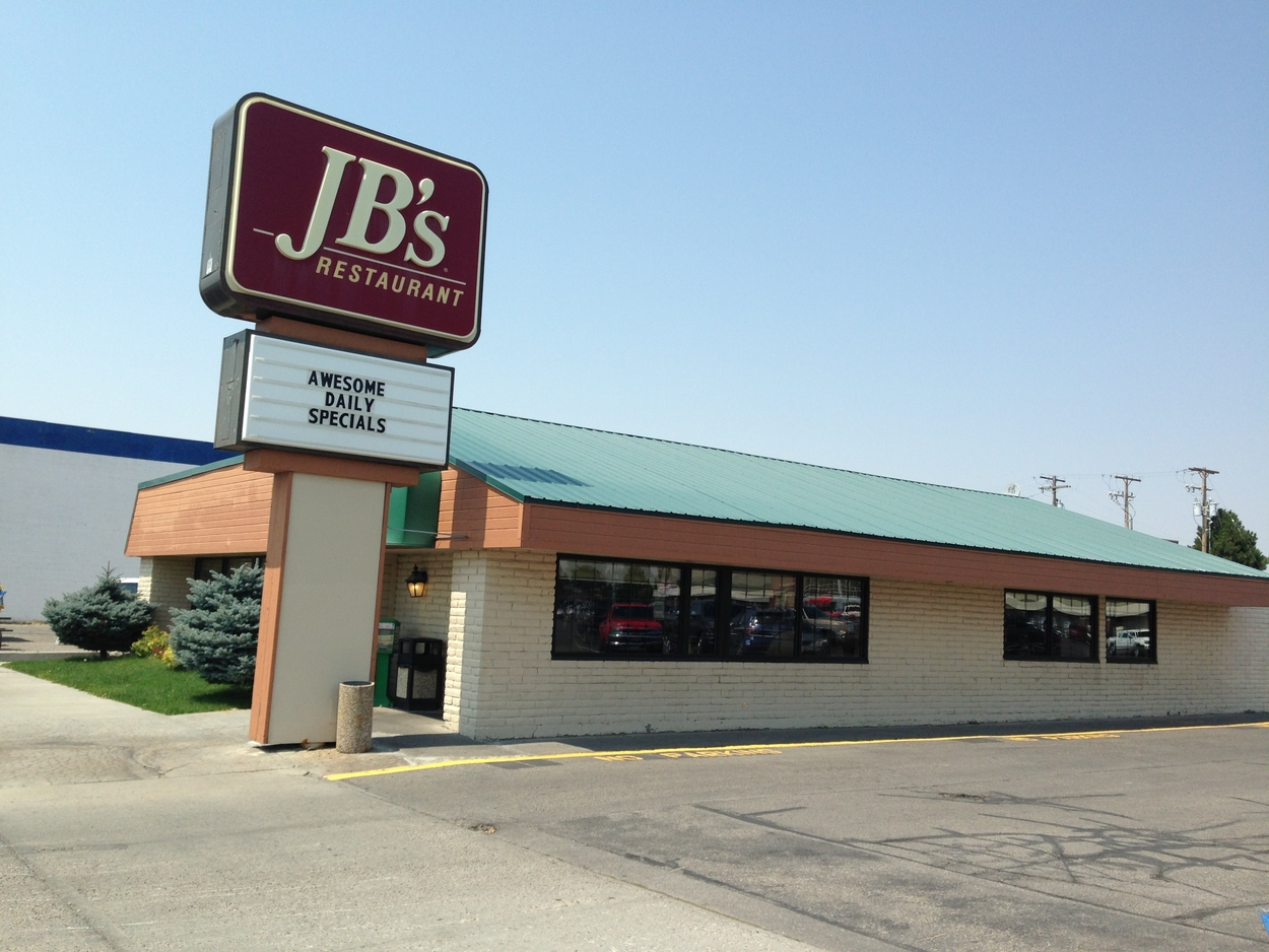 For a family breakfast in Rexburg, try JB's.