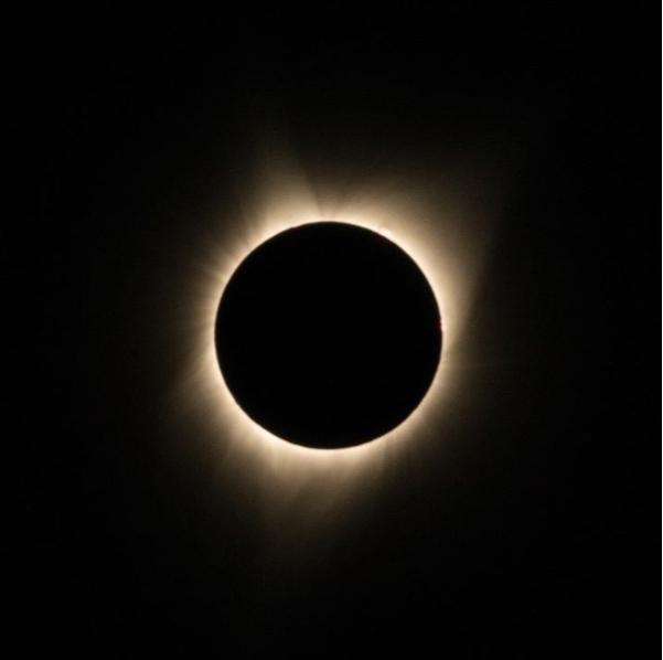 Eclipse photo by @mckenziecooper