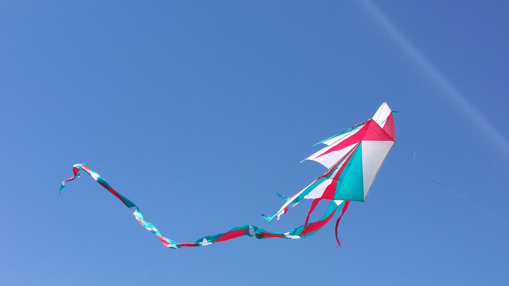 Flying kites is one of the cheap date ideas.