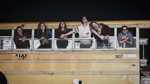 The Rexburg Straw Maze includes fun obstacles like a haunted bus.