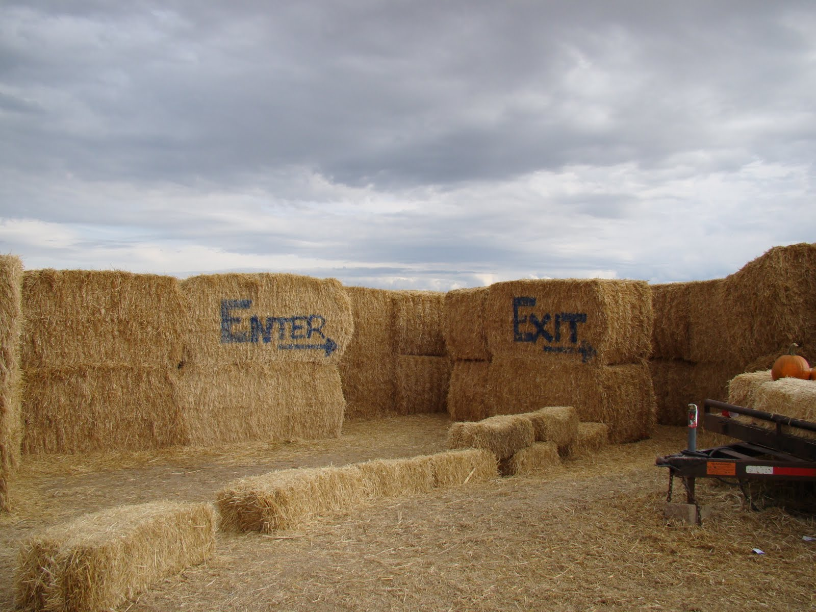 The Straw Maze is one of the fun fall festivities in Rexburg.