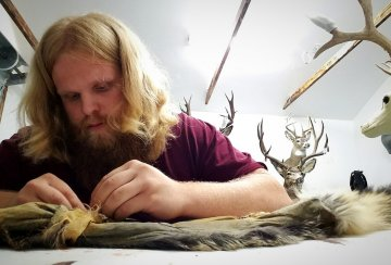 Cody Goody of Wild to Wall Taxidermy.