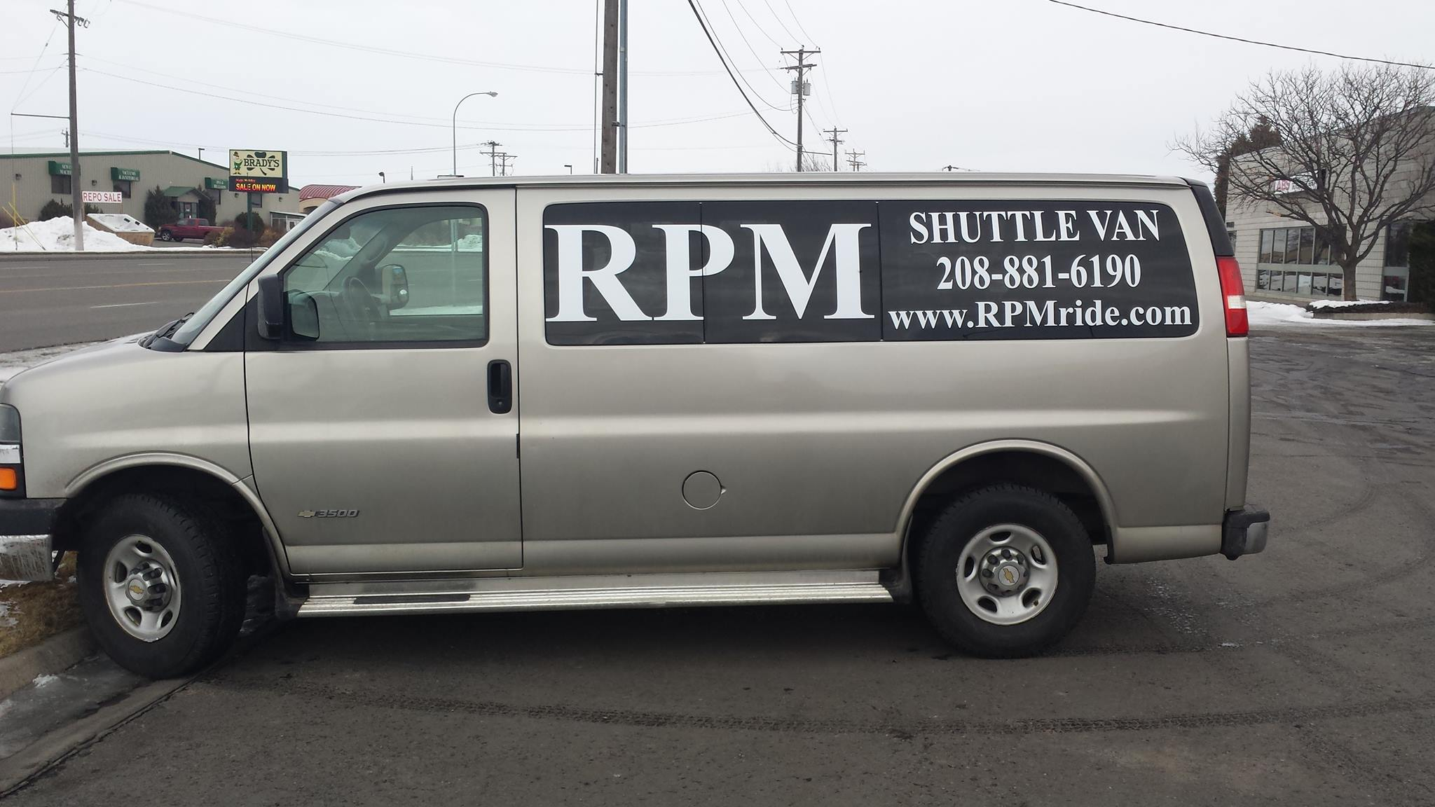 The RPM has many different stops and can take you around Rexburg.