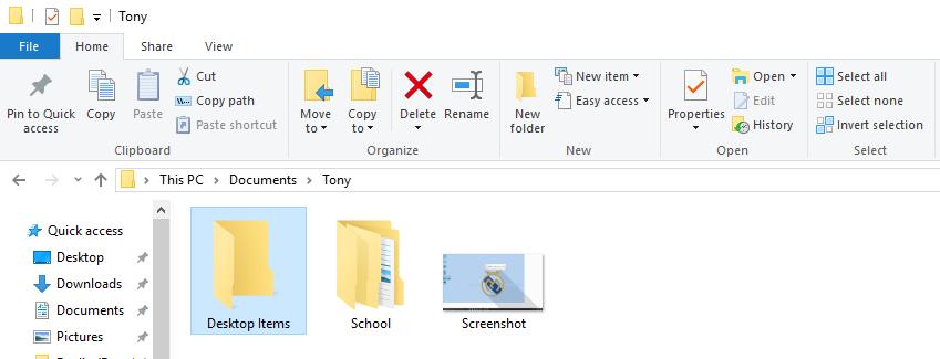 Best practical practical jokes - desktop folders