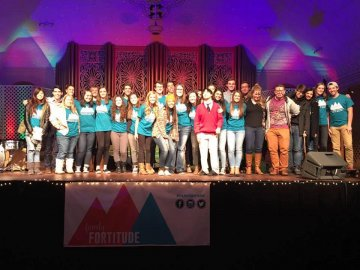 The Family Fortitude family at the Fortitude Festival 2016