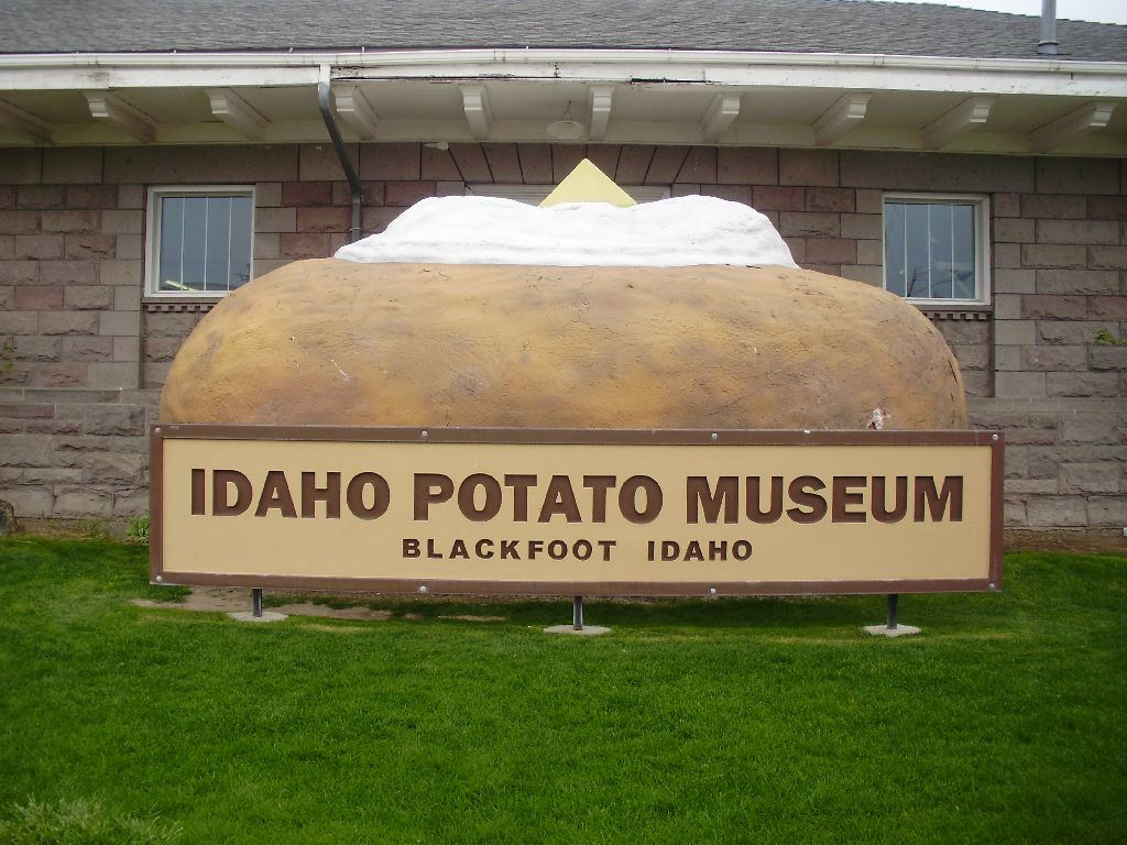 Wondering what to do in Rexburg? Visit the Potato Museum.