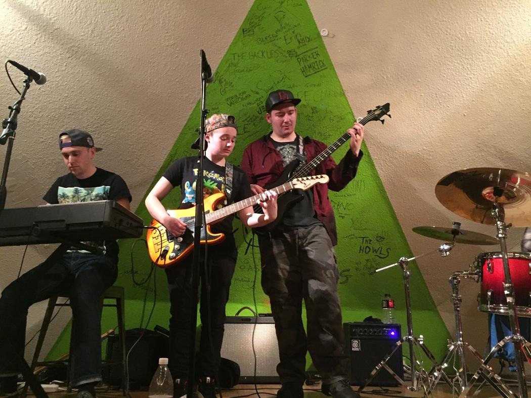 Scott Leavitt, Dani Gee, and Sam Gee of Lambent.