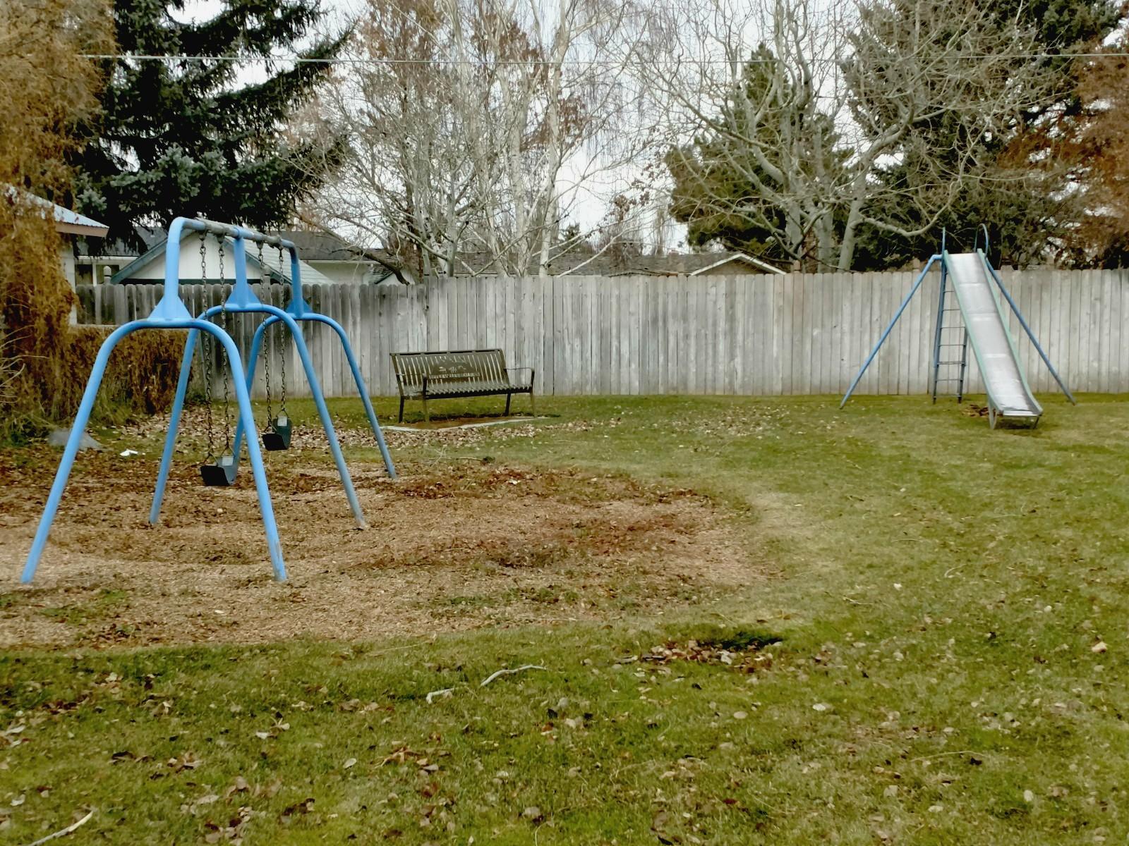 Park Street Park in Rexburg will receive a new playground.