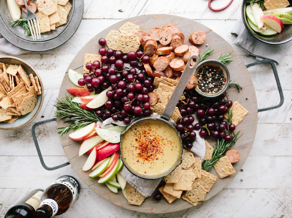 Try making a delicious cheese, meat, fruit, or veggie platter this Thanksgiving!