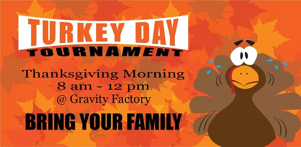 Gravity Factory is putting on a family friendly dodgeball tournament to celebrate a Rexburg Thanksgiving.