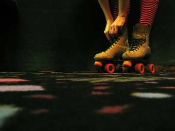 One of the best winter date ideas in Rexburg is to go roller skating at the MC Building.