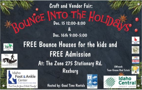 """Bounce into the holidays"" with Good Time Rentals"