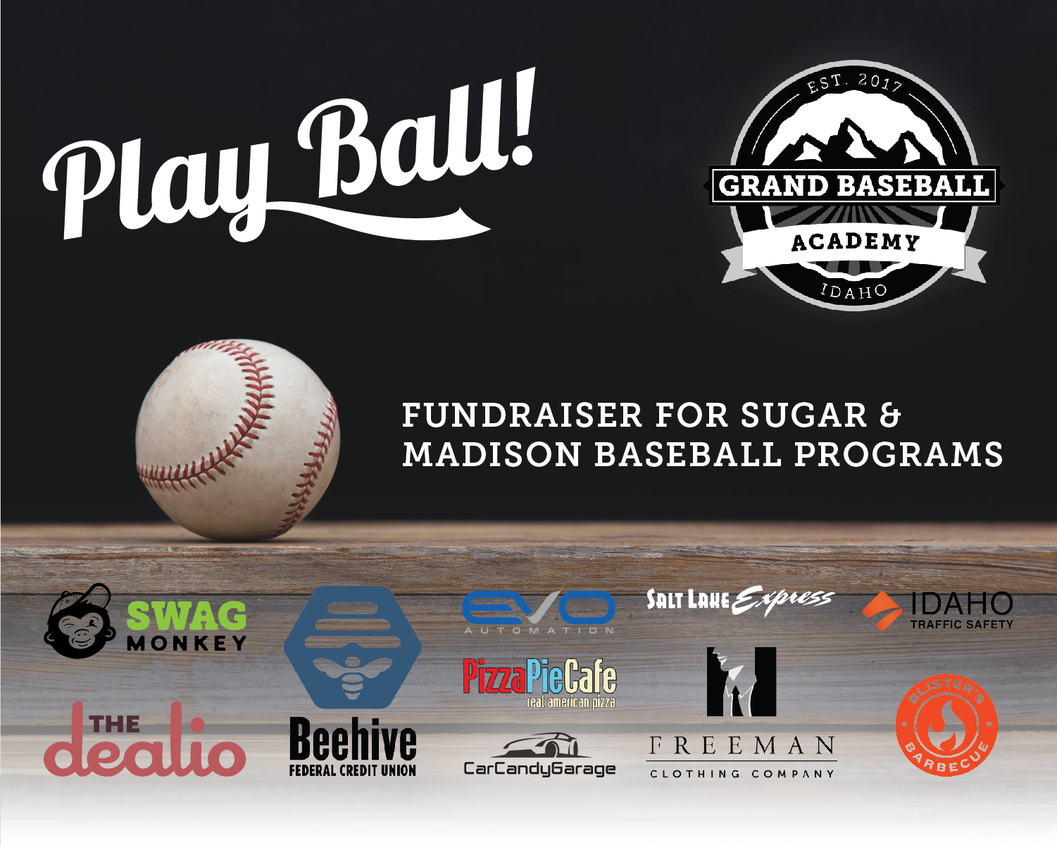 Grand Baseball Academy is also a fundraiser for Madison and Sugar-Salem Baseball Programs.