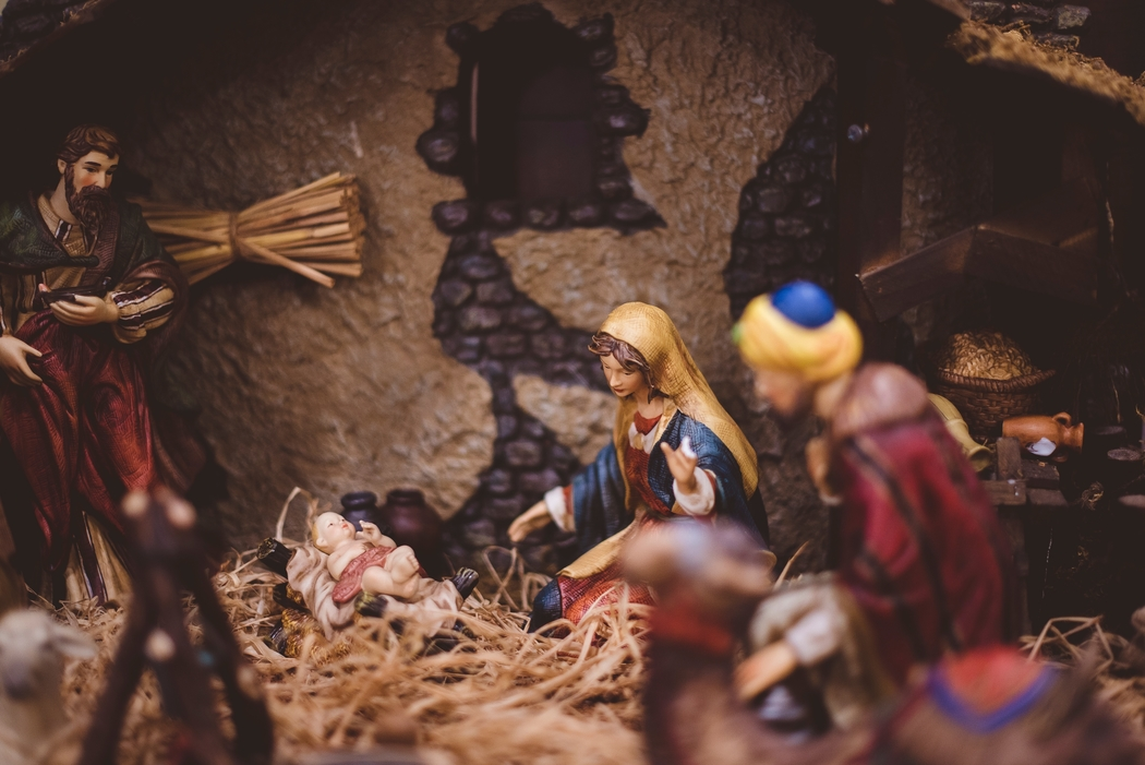 Read the story of Christ's birth as one of your Christmas traditions.