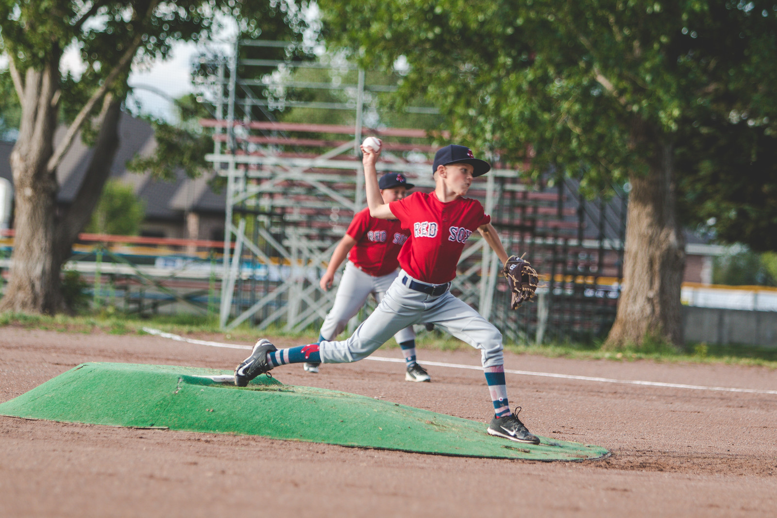 At Grand Baseball Academy, athletes learn from professionals.
