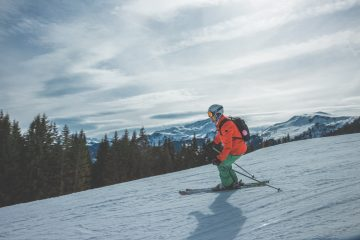 Skiing at Targhee is one of the great winter activities.