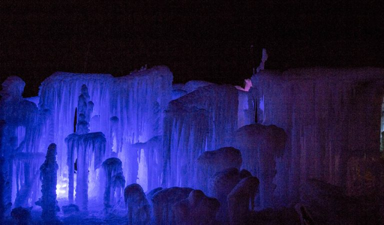 Visit the Labelle Lake Ice Palace this week