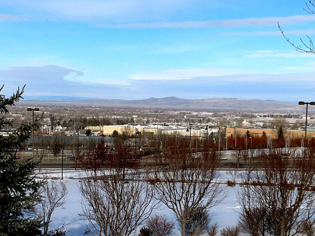 It won't always be winter in Rexburg. Keep your new year's resolutions.