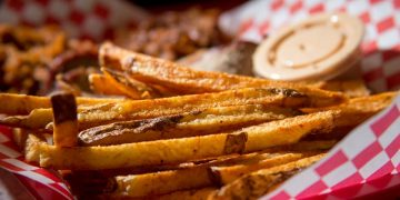 The fries are second to none at Blister's BBQ.