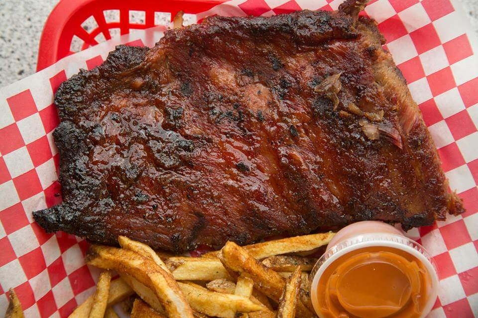 Blister's BBQ has some of the best bbq in Rexburg.