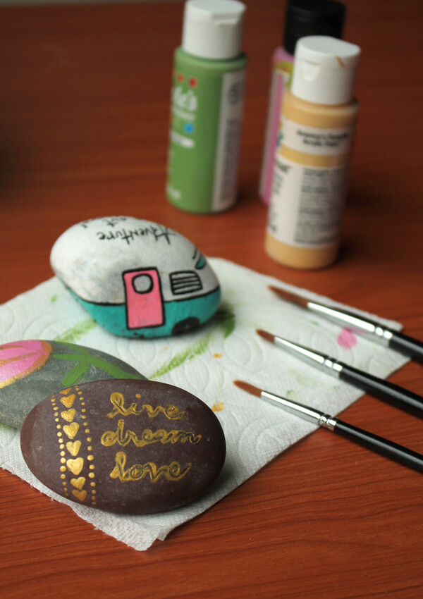 Rexburg Rocks is a community group that involves painting and hiding rocks around town.