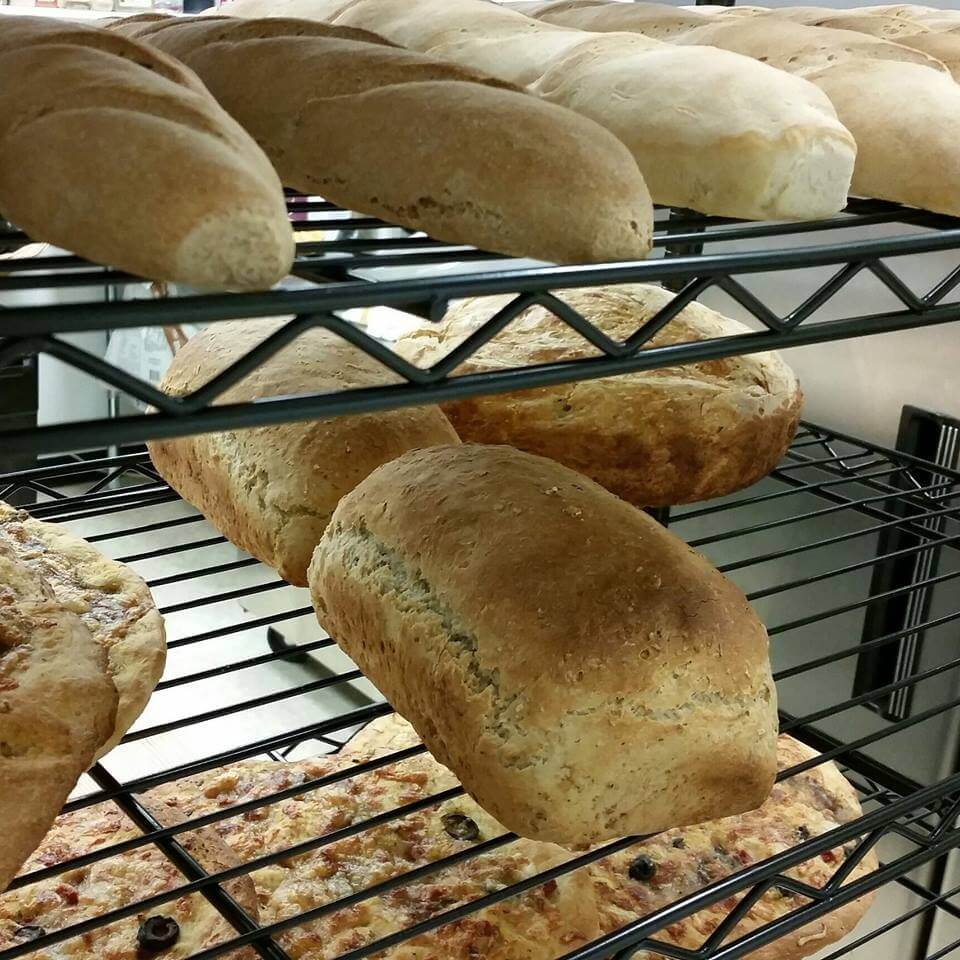 Try the fresh homemade bread at Soup For You?