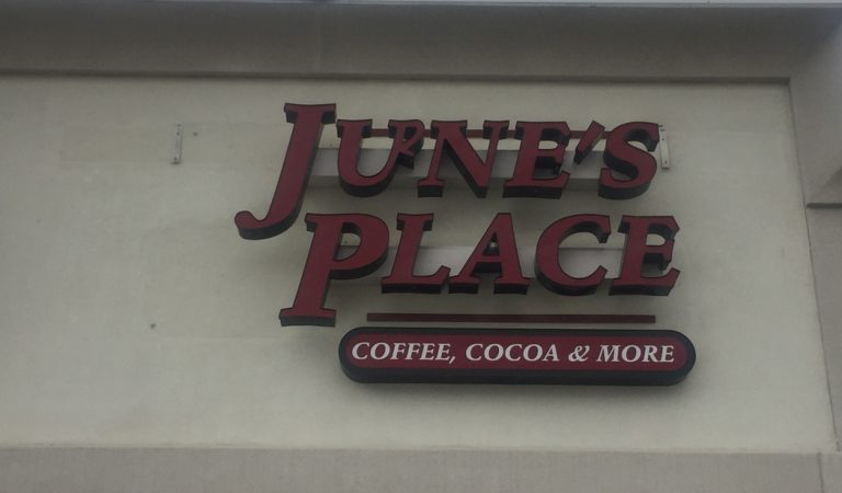 Coffee and company: June's Place to open March 24