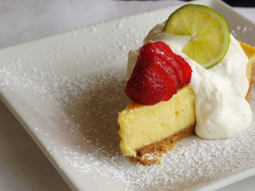 Key Lime Pie - perfect for Pi Day.