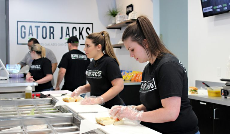 New Gator Jack's opens today in same location