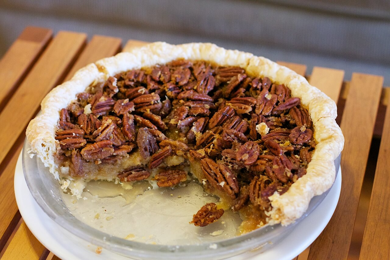 Pecan Pie - perfect for Pi Day.