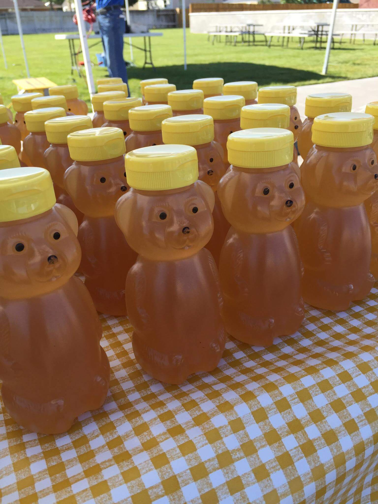Hick's Honey at the Rexburg Farmer's Market