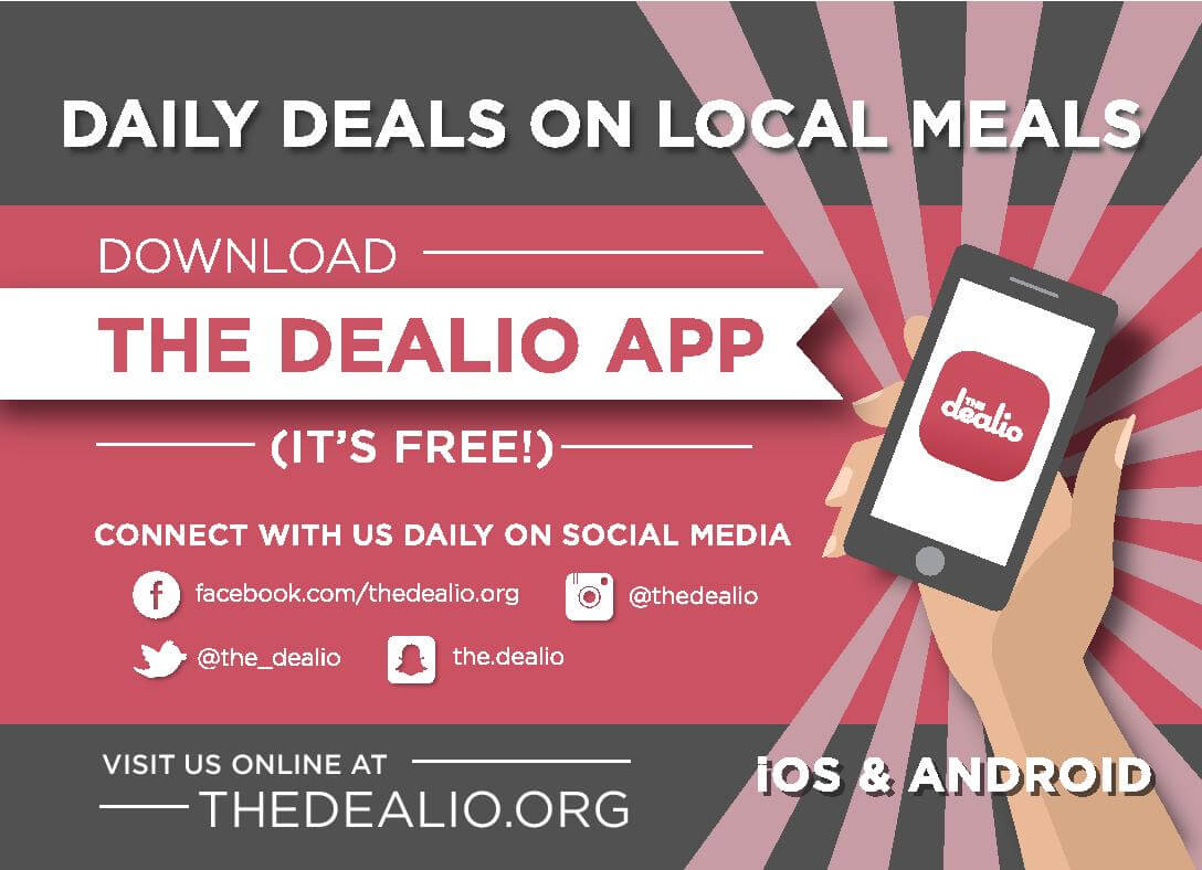 Graphic of The Dealio app