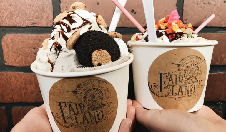Fair Land: Lemonade and treat parlor in Rexburg
