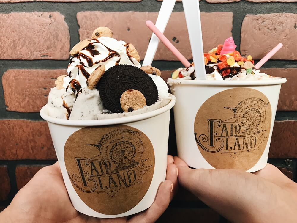 fair land ice cream