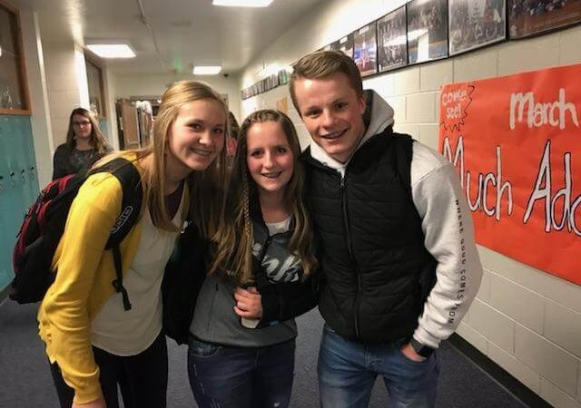 Local high school student promotes kindness campaign