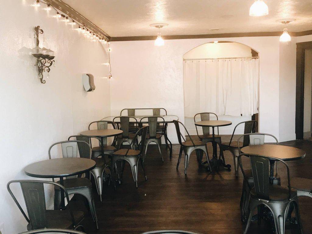 Fair Land Lemonade & Treat Parlor new dining area